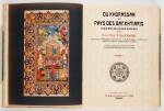 D'Allemagne. Du Khorassan au Pays des Backhtiaris. Paris, 1911, 4 volumes, half buckram