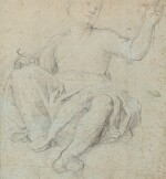 CENTRAL ITALIAN SCHOOL, 17TH CENTURY | A SEATED WOMAN