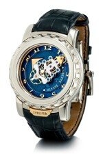 ULYSSE NARDIN  |  FREAK, REFERENCE 020-88  A WHITE GOLD CARROUSEL TOURBILLON WRISTWATCH WITH DUAL DIRECT ESCAPEMENT, CIRCA 2007 | 雅典 |