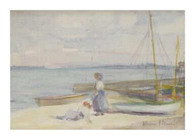 PAULINE PALMER | ON THE BEACH (PROVINCETOWN, MASSACHUSETTS)