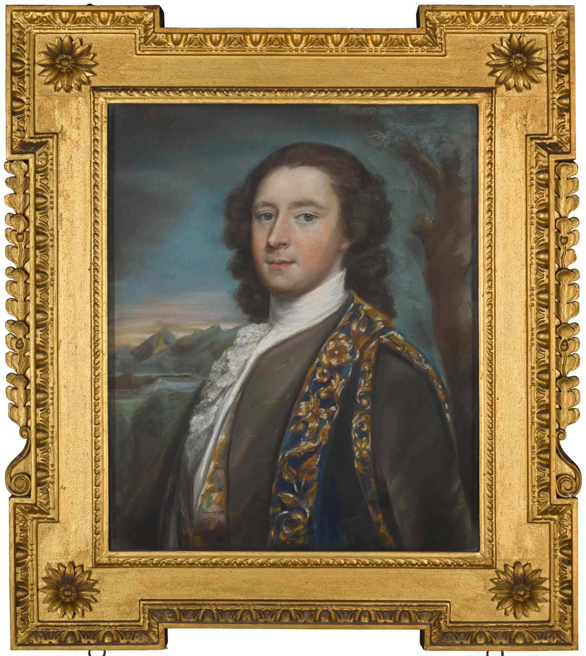 View full screen - View 1 of Lot 17. ATTRIBUTED TO ARTHUR POND | PORTRAIT OF CLOTWORTHY SKEFFINGTON, 4TH VISCOUNT MASSEREENE, LATER 1ST EARL OF MASSEREENE (1715-1757), CIRCA 1751.