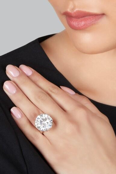 View 2. Thumbnail of Lot 58. Diamond Ring.