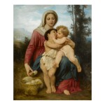 WILLIAM BOUGUEREAU | SAINTE FAMILLE (RÉDUCTION)