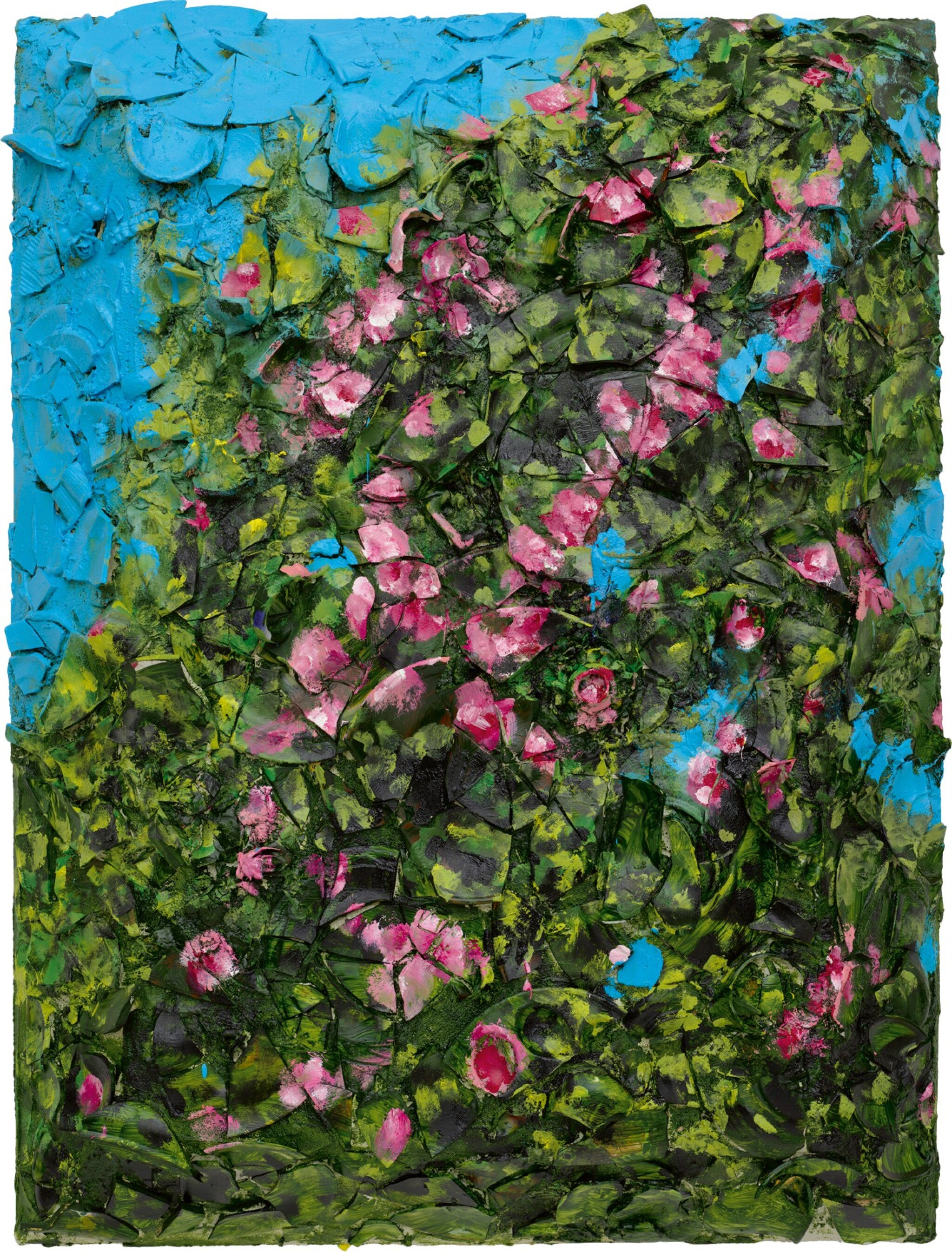 View full screen - View 1 of Lot 39. Julian Schnabel 朱利安・許納貝 | Victory After S-chanf VI S-chanf 後的勝利 6.