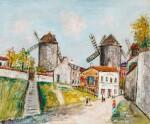 Les Trois moulins, Montmartre