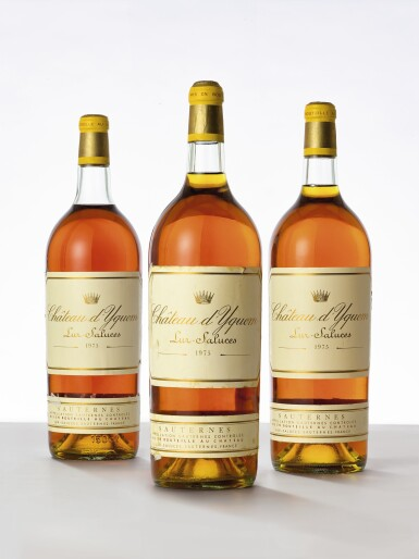 View 1. Thumbnail of Lot 5039. Château d'Yquem 1975  (3 MAG).