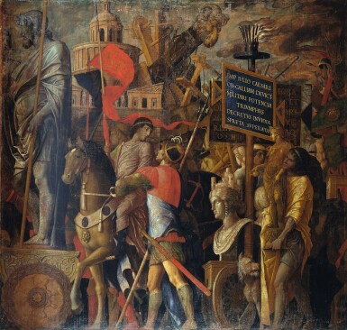 ANDREA MANTEGNA | THE TRIUMPH OF ALEXANDRIA