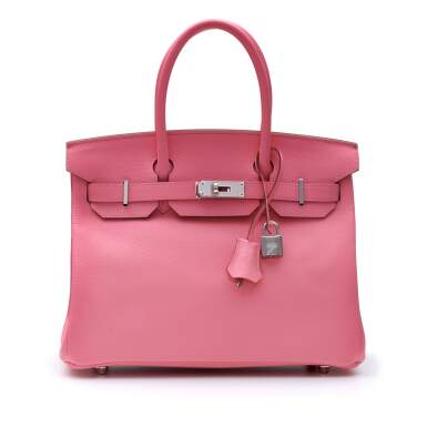 View 1. Thumbnail of Lot 302. Rose Confetti Birkin 30cm in Epsom Leather with Palladium Hardware, 2020.