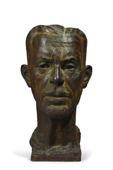 View 1 of Lot 134. Untitled (Head of a Man).