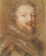 Portrait of a portly, bearded soldier