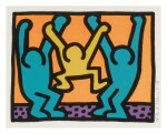 KEITH HARING |  POP SHOP I (LITTMANN PP. 82-83)