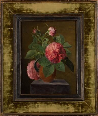 View 2. Thumbnail of Lot 74. ATTRIBUTED TO JAN FRANS VAN DAEL   Still life of roses.