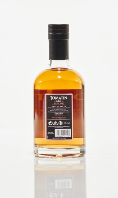 View 2. Thumbnail of Lot 25. Tomatin 1988 25 Year Old 43.0 abv NV (1 HB35cl).