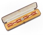 KÖCHERT | ENAMEL AND DIAMOND BRACELET   (BRACCIALE IN SMALTO E DIAMANTI ), 1910