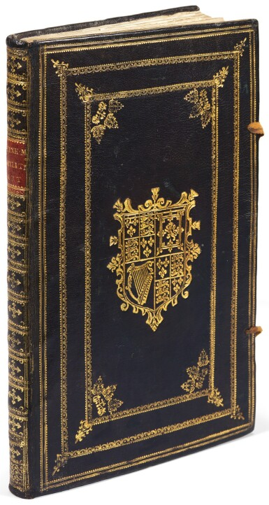 Hexham, Principles of the art militarie, London, 1637, black morocco gilt, presentation copy to Charles II