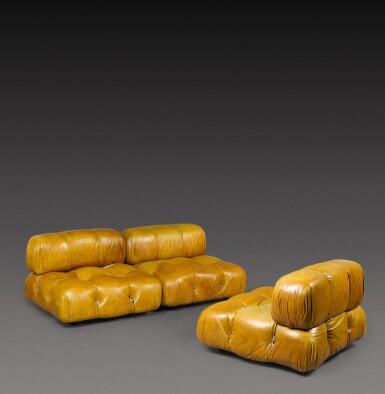 View 2. Thumbnail of Lot 185. Three piece Camaleonda sofa.