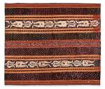 Vêtement de femme tapis, Lampung, Sumatra, Indonésie, début du 20e siècle   Woman's wrapper tapis, Lampung, Sumatra, Indonesia, early 20th century