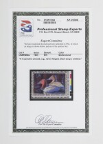 Hunting Permits 1993 $15.00 Multicolored Black Engraving Omitted (RW60a)