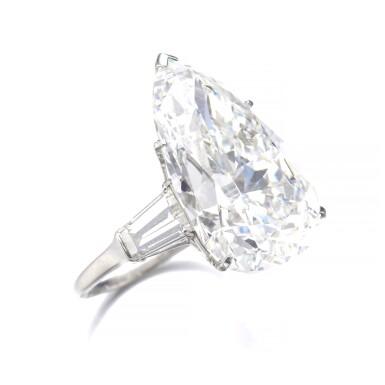 View 2. Thumbnail of Lot 202. HARRY WINSTON [海瑞溫斯頓] | IMPORTANT DIAMOND RING, CIRCA 1970 [重要鑽石戒指,約1970年].