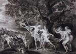 MONGEZ, ANTOINE AND WICAR, JEAN-BAPTISTE JOSEPH | TABLEAUX, STATUES, BAS-RELIEFS ET CAMÉES, DE LA GALERIE DE FLORENCE. PARIS, 1798, 4 VOLUMES BOUND IN 2