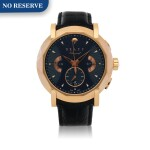 CHRONOGRAFF, REF CG45PG LIMITED EDITION PINK GOLD CHRONOGRAPH WRISTWATCH WITH DATE CIRCA 2012