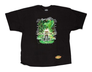 View 2. Thumbnail of Lot 111. [PEN & PIXEL]   COLLECTION OF 10, NEVER-RELEASED OFFICIAL CASH MONEY T-SHIRTS, 2001.