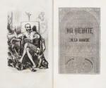 CERVANTES. Don Quichotte. Traduit et annoté par Louis Viardot. 1836-1837. 1er tirage. Reliure époque