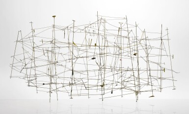 View 1. Thumbnail of Lot 303. HARRY BERTOIA | UNTITLED (WIRE CONSTRUCTION).