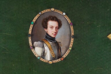 View 1. Thumbnail of Lot 176. Portrait of Friedrich, Prince of Prussa (1794-1863), circa 1820.