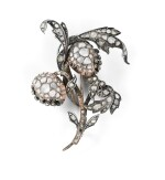BROCHE DIAMANTS, DÉBUT DU 19ÈME SIÈCLE | DIAMOND BROOCH, EARLY 19TH CENTURY