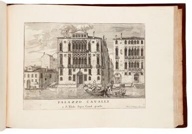 View 3. Thumbnail of Lot 19. CARLEVARIS   Le fabriche e vedute di Venetia, Venice, [1705].