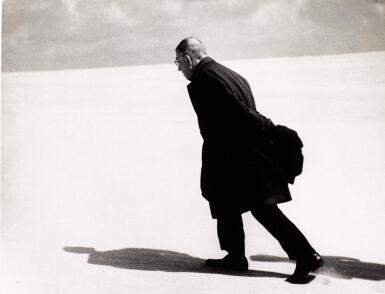 ANTANAS SUTKUS   'JEAN-PAUL SARTRE IN LITHUANIA', NIDA, 1965