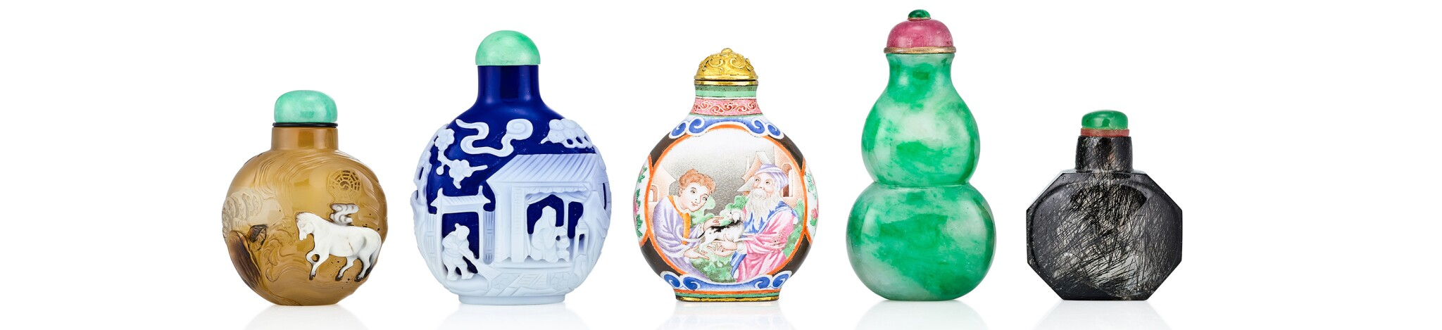 Snuff Bottles From A German Private Collection
