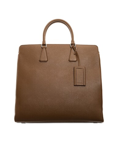View 4. Thumbnail of Lot 55. PRADA | SAFFIANO LEATHER GALLERIA TOTE BAG.