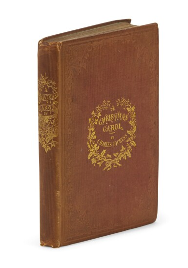 View 1. Thumbnail of Lot 88. Dickens, A Christmas Carol, 1843.