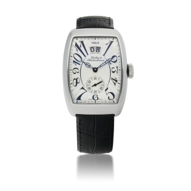 DUBEY & SCHALDENBRAND | DATE-SIXTY LIMITED EDITION STAINLESS STEEL WRISTWATCH WITH DATE CIRCA 2006