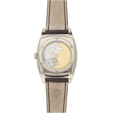 View 4. Thumbnail of Lot 159. REFERENCE 5135G GONDOLO CALENDARIO A WHITE GOLD AUTOMATIC ANNUAL CALENDAR WRISTWATCH WITH MOON PHASES, CIRCA 2010.