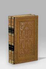 CHATEAUBRIAND. Congrès de Vérone... Paris et Leipzig, 1838. 2 vol. in-8. Veau fauve, plats ornés à froid.