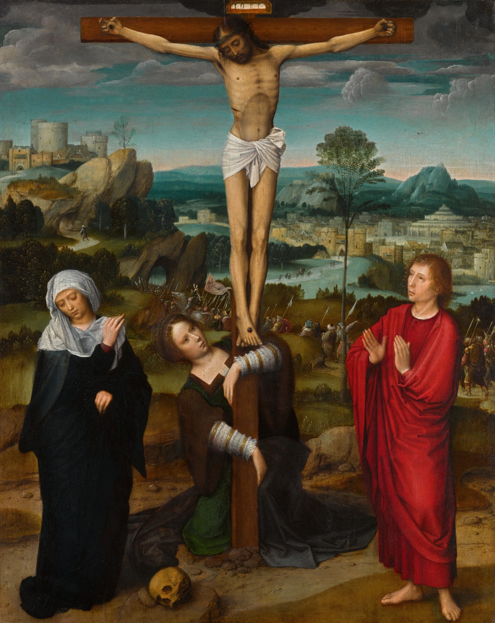 View full screen - View 1 of Lot 5. The Crucifixion  《十字架苦像》.