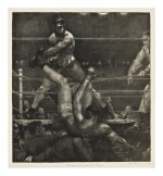 GEORGE WESLEY BELLOWS |  DEMPSEY THROUGH THE ROPES (MASON 182)