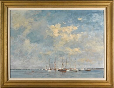 View 2. Thumbnail of Lot 80. Yachts on the Orwell, Suffolk.