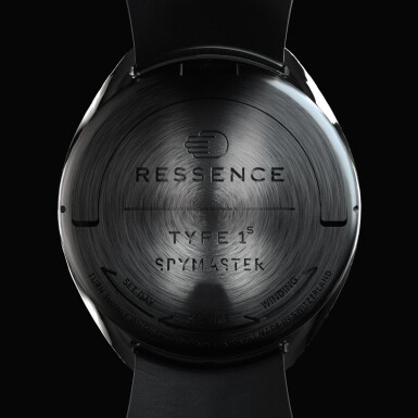 View 6. Thumbnail of Lot 2251. Ressence | Spymaster, A limited edition titanium wristwatch with rotating dial and day of the week indication, with unique NFT digital artwork to celebrate its creation and authenticate it on the blockchain, sold to benefit the Make-A-Wish foundation, Circa 2021 | Spymaster 限量版鈦金屬腕錶,備迴轉錶盤及星期顯示,附帶獨一無二 NFT 非同質化代幣,備數位慶祝畫作及方塊鏈認證,為造福 Make-A-Wish 機構而售,約2021年製.
