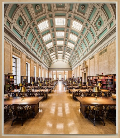View 2. Thumbnail of Lot 164. Loker Reading Room – Widener Library, Harvard University, Cambridge.
