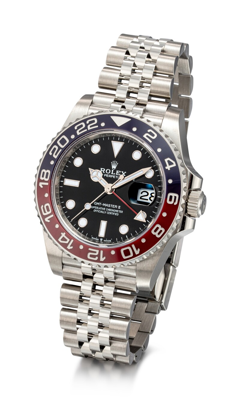 GMT-Master II, Reference 126710 BLRO A Stainless Steel Dual Time Zone Wristwatch With Date, Ceramic Bezel and Bracelet, Circa 2019