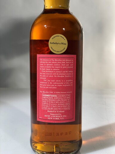 View 2. Thumbnail of Lot 1. The Macallan Select Reserve 52 Year Old 40.0 abv 1946 (1 BT75cl).