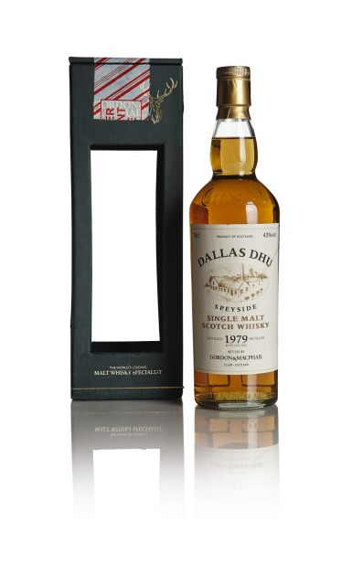 DALLAS DHU GORDON & MACPHAIL 33 YEAR OLD 43.0 ABV 1979