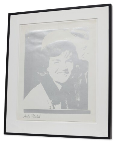 View 5. Thumbnail of Lot 24. ANDY WARHOL | JACQUELINE KENNEDY I (JACKIE I) (F. & S. II.13).