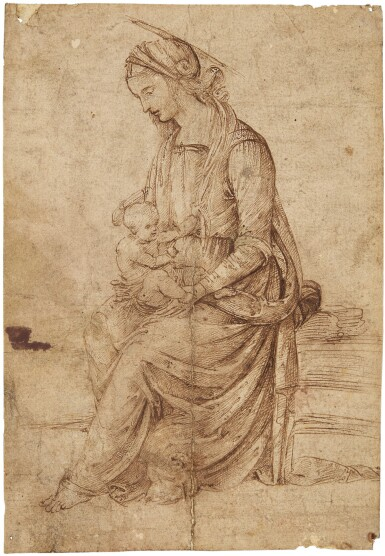 BERNARDINO DI BETTO DI BIAGIO, CALLED PINTORICCHIO | MADONNA AND CHILD