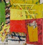 Untitled (Yellow- Red Composition)