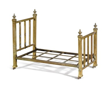 View 6. Thumbnail of Lot 4. A VICTORIAN BRASS 'DOG BED', LATE 19TH /EARLY 20TH CENTURY.